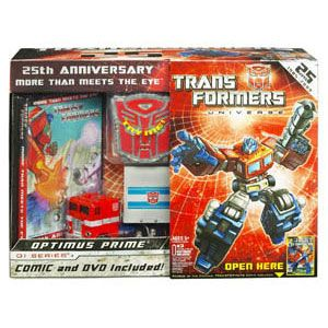 25th Anniversary Optimus Prime