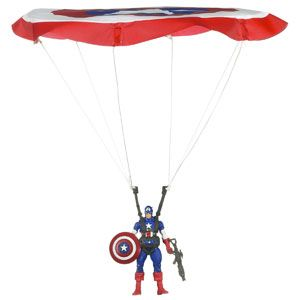 Captain America Paratrooper Dive
