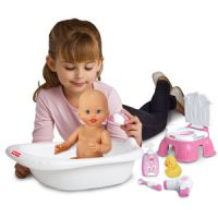 Fisher-Price Little Mommy Bath and Training Set