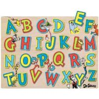Dr. Seuss Wood ABCs Puzzle