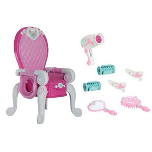 My First Disney Princess Royal Styling Throne with Cinderella