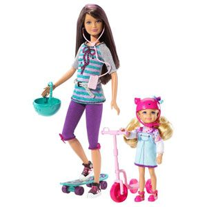 Barbie Sisters Skateboard