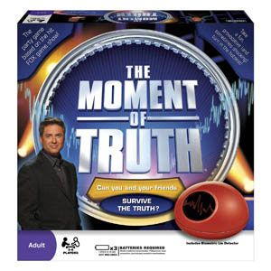 Moment of Truth Board Game