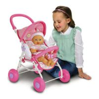 Fisher-Price Little Mommy Baby So New Doll & Stroller