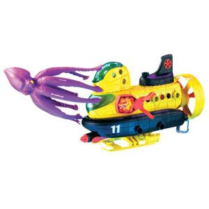 Matchbox Mega Rig Squid Sub