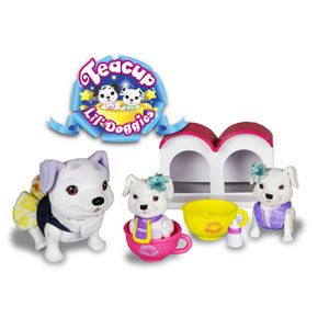 Teacup Doggies Mommy and Lil' Doggies Bedtime Set