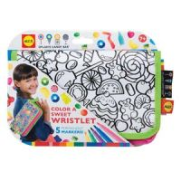 Color A Sweet Wristlet