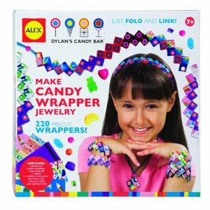 Make Candy Wrapper Jewelry