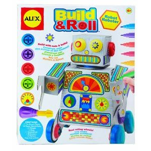 Build & Roll Robot