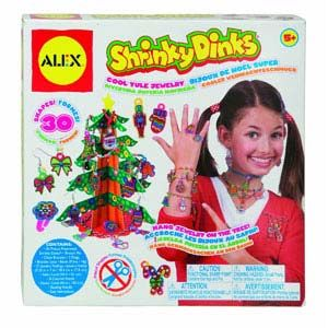 Shrinky Dinks Cool Yule Jewelry