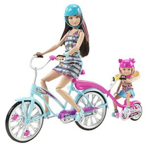 Barbie Sisters' Bike for Two