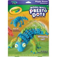 Model Magic Presto Dots Wiggle Bones Chameleon