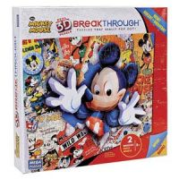 3D BreakThrough Puzzle - Classic Mickey Mouse