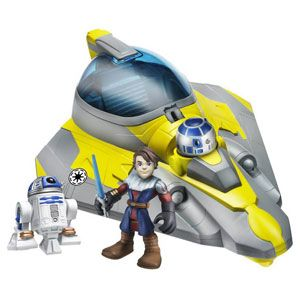 Star Wars Jedi Force Anakin Skywalker's Jedi Starfighter with R2-D2