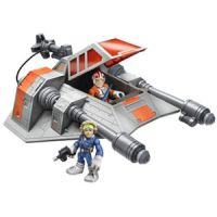 Star Wars Jedi Force Snowspeeder with Luke Skywalker and Han Solo