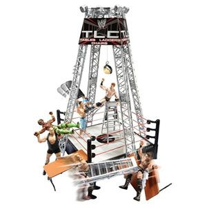 WWE Tables, Ladders, and Chairs Playset