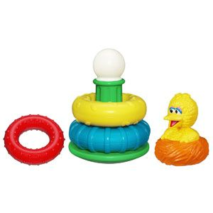 Sesame Street Big Bird Stack-A-Nest
