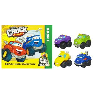 Tonka Chuck & Friends Storybook Fleet