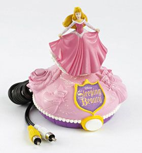 Disney's Sleeping Beauty Plug It In & Play TV Game
