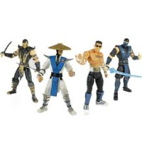 Mortal Kombat Six-Inch Action Figures