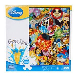 Disney Expressions Puzzle - Legends