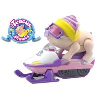 Teacup Piggies Snowmobile