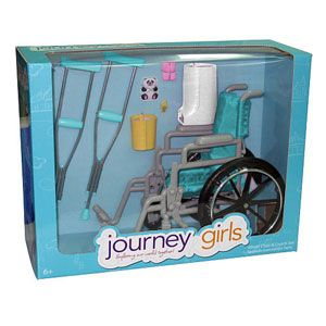Journey Girls Wheel Chair & Crutch Accessory Set