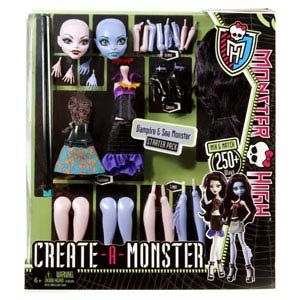 Monster High Create-A-Monster Werewolf & Dragon Starter Pack
