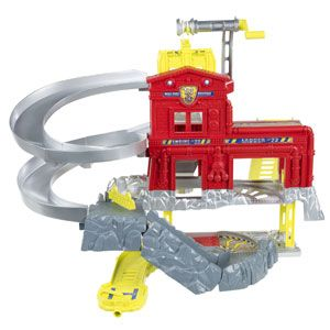 Matchbox Cliff Hanger Fire Station