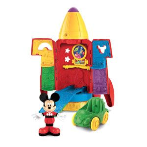 Mickey's Blast-off Rocket