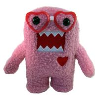Domo Nerd with Heart Glasses