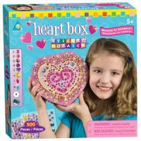 Sticky Mosaics Heart Box
