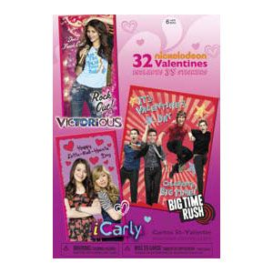 iCarly, Victorious & Big Time Rush Valentine's Day Cards