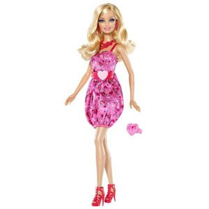 Barbie I Love Valentines