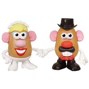 Mr. & Mrs. Potato Head Mashly in Love