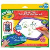 My First Crayola Mess-Free 2-in-1 Doodle Board