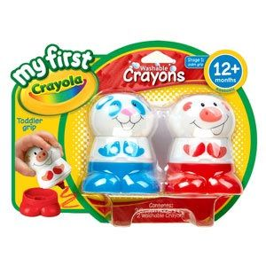 My First Crayola Washable Crayons
