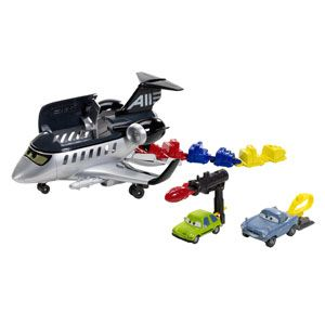 Cars Action Agents Spy Jet Getaway