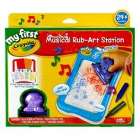 My First Crayola Musical Rub-Art Station