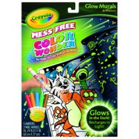 Crayola Mess-Free Color Wonder Glow Murals