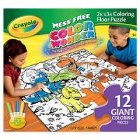 Mess-Free Color Wonder 2ft. x 3ft. Coloring Floor Puzzle