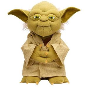 Talking Yoda Plush