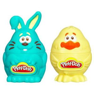 Play-Doh Treat Without the Sweet Bunny & Chick Stampers