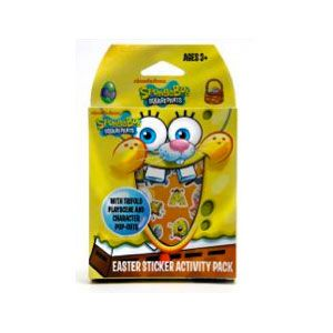 SpongeBob SquarePants Easter Sticker Activity Pack