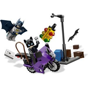 DC Universe Superheroes Catwoman Catcycle City Chase