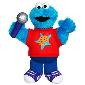 Let's Rock! Singin' Cookie Monster