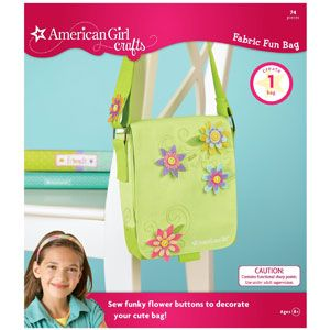 American Girl Crafts Fun Fabric Bag