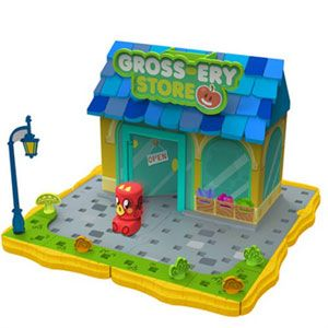 Bobble Bots Moshi Monsters Gross-ery Store