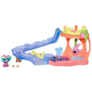 Littlest Pet Shop Walkables Slide N Dive Lagoon