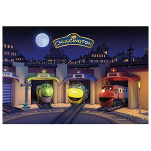 Chuggington 3x2 feet Super Sized Floor Puzzle